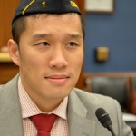 Davy Leghorn, assistant director of The American Legion's National Veterans Employment and Education Division, presented testimony to the House Committee on Small Business Subcommittee on Contracting and Workforce (Photo by Andrea Dickerson)